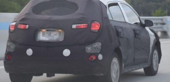 Next Generation Hyundai i20 Active Spied