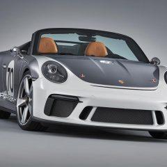 Porsche reveals Open-top Sports car: Porsche 911 Speedster Concept