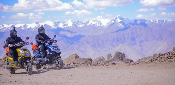 Okinawa Praise becomes First Electric Scooter to Complete Leh Trip