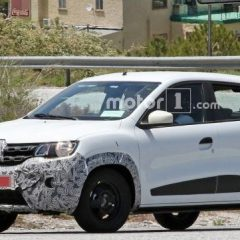 Facelifted Renault Kwid Coming soon – Spotted testing in Europe
