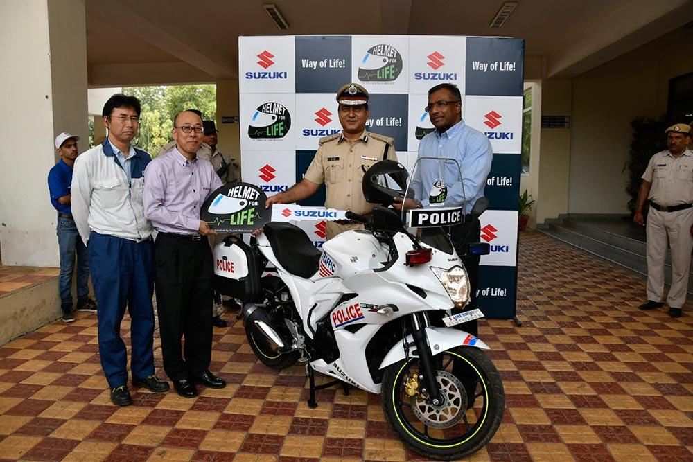Suzuki Helmet Awareness Campaign
