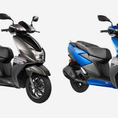 TVS nTorq 125 Gets 2 New Colors: Blue and Grey