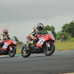 TVS Racing makes strong start in 1st round of INMRC 2018