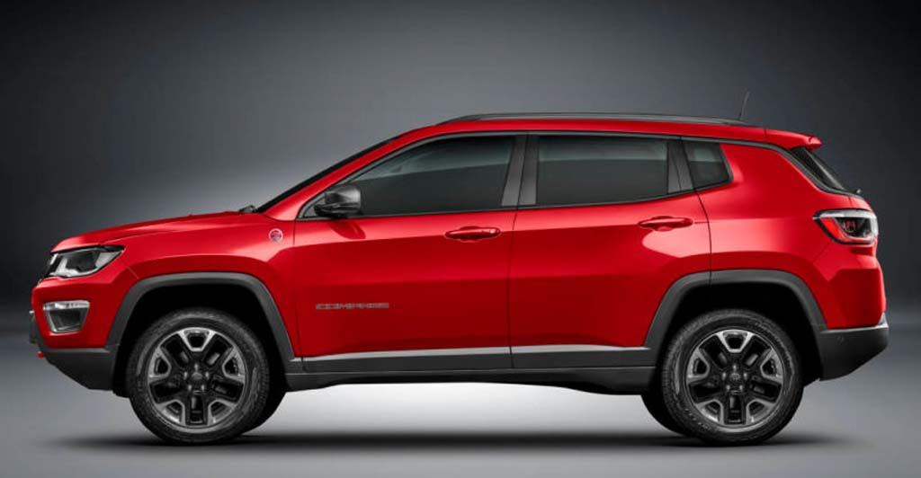 2018 jeep compass trailhawk off roader india launch soon. Black Bedroom Furniture Sets. Home Design Ideas