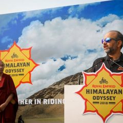 Royal Enfield Flags off the 15th Edition of Himalayan Odyssey 2018