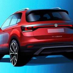 Volkswagen's Compact SUV T-Cross Official Sketch Revealed
