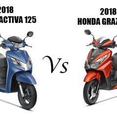 2018 Activa 125 vs Grazia 125 – Which is a better Buy?