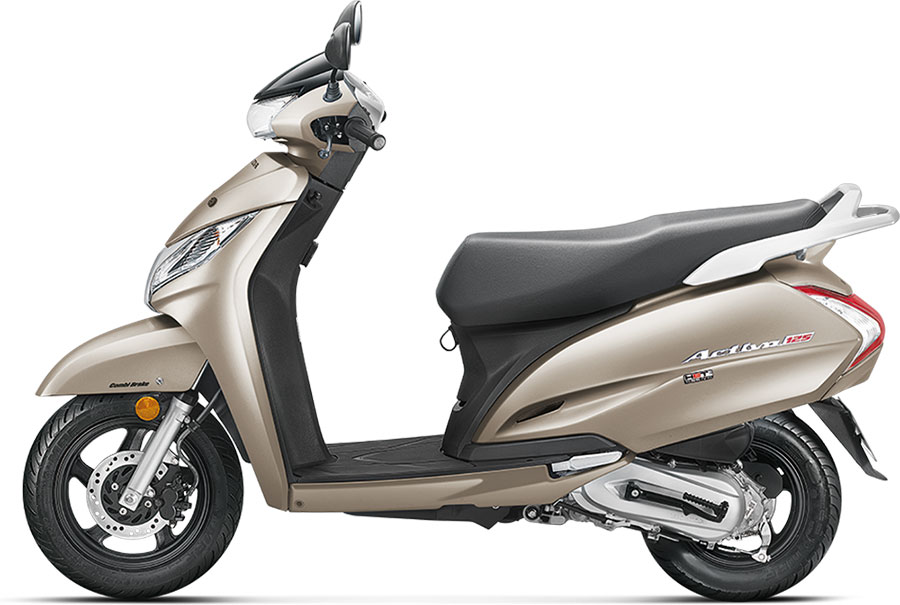 2019 Honda Activa 125 Colors Silver Blue Red Black White Brown Gaadikey