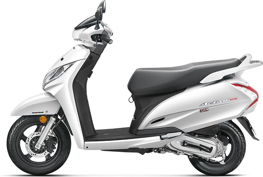 2018 Honda Activa 125 White Color Pearl White Color Variant Photo