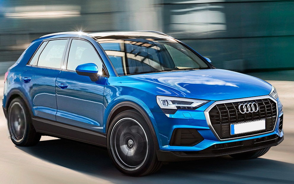 2019 audi q3 officially teased will launch in india soon. Black Bedroom Furniture Sets. Home Design Ideas