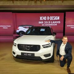Volvo XC40 SUV Officially Launched In India at Rs 39.9 lakhs