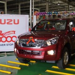 Isuzu Motors India rolls out 10,000th vehicle from its plant in Sricity