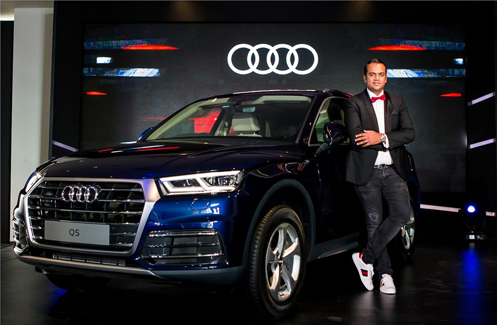 audi q5 45 tfsi quattro launched at rs lakhs gaadikey. Black Bedroom Furniture Sets. Home Design Ideas