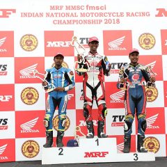 TVS Racing's Jagan Kumar bags P2 in INMRC 2018 Round 2