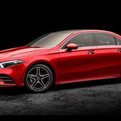 New Mercedes-Benz A-class sedan revealed – Successor to the 190