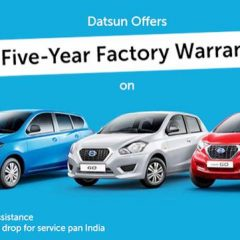 Datsun introduces New Extended Warranty Plan in India