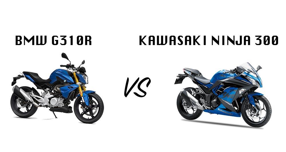 2018 Kawasaki Ninja 300 Vs Bmw G310r Which Is Worth