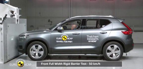 Volvo XC40 gets 5-star Euro NCAP Rating