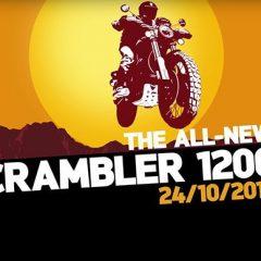 Triumph Scrambler 1200 teased before Launch