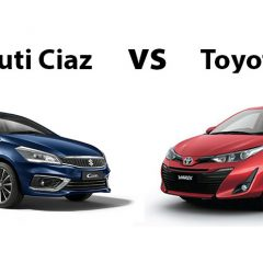 2018 Maruti Ciaz vs Toyota Yaris – Compare Before Buying