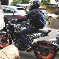 Husqvarna Svartpilen 401 Spied – Made in India