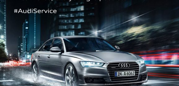 "Audi's Monsoon Campaign ""Bring on the rain"""