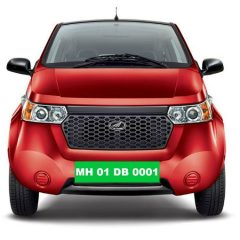 Green Number Plate for Electric Vehicles in India