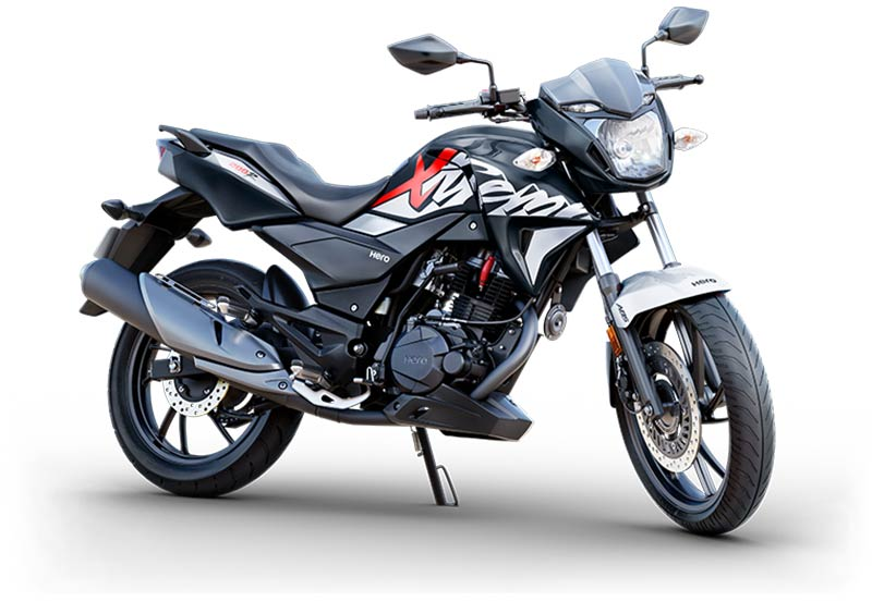 Hero Xtreme 200R Panther Black with Silver Color