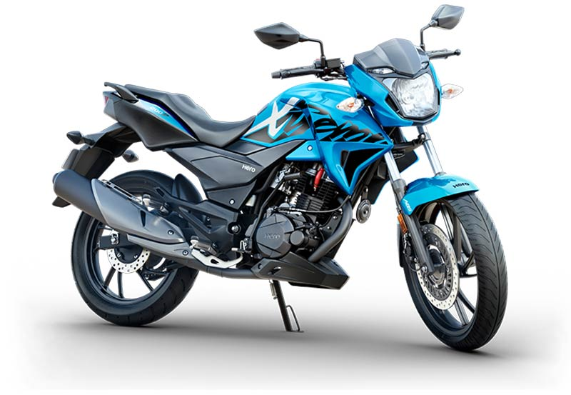 Hero Xtreme 200R Blue Color - Hero Xtreme 200R Techno Blue Color