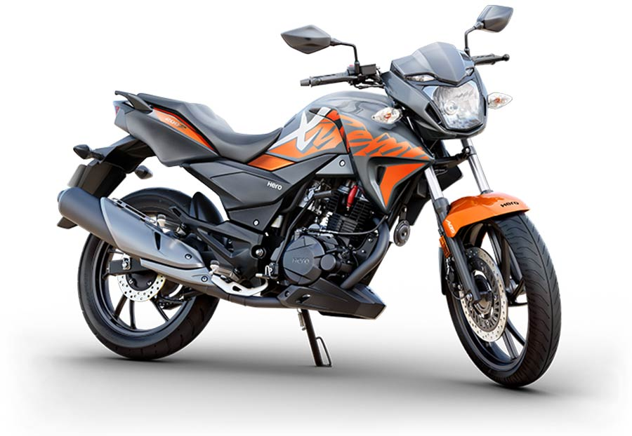Hero Xtreme 200R Orange and Grey Color