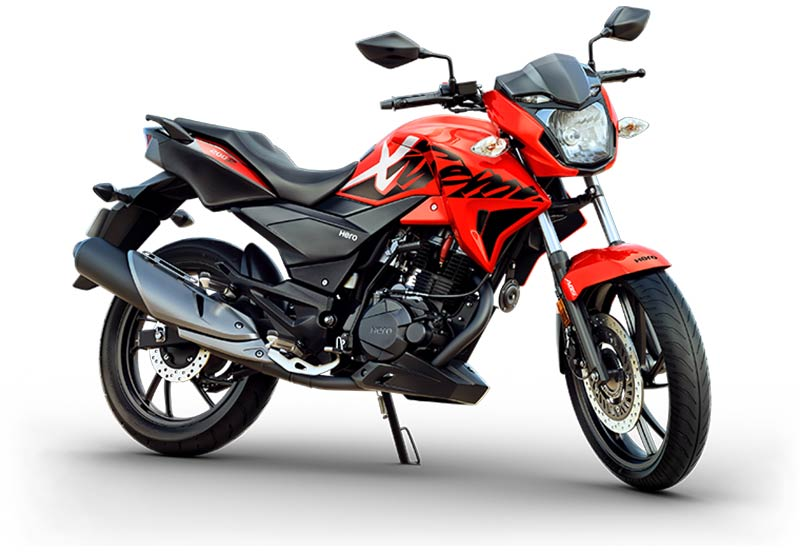 Hero Xtreme 200R Sports Red Color Variant