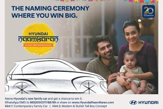 "2 Lakh Votes for ""Santro"" – The Upcoming Hyundai Hatchback (AH2)"
