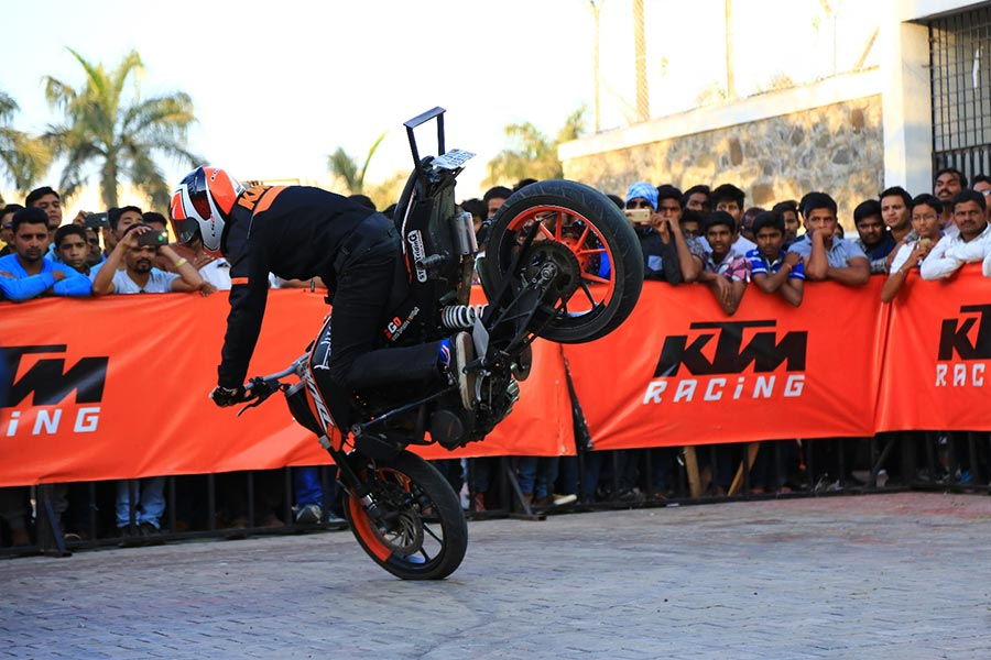 KTM Stunt Show Delhi Photo 1