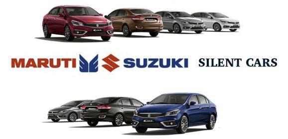 "Maruti Suzuki to Launch ""Silent Cars"" from 2020"