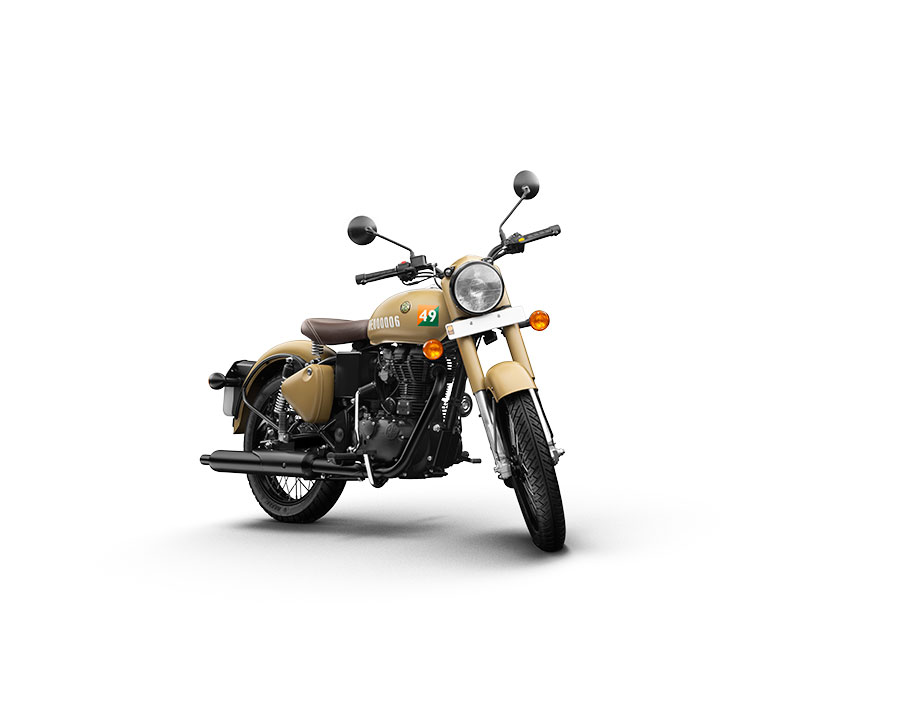 Royal Enfield Classic 350 Sand Color Variant