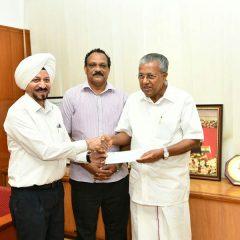 TVS Motor Company Donates Rs 1 Crore to Flood-Hit Kerala