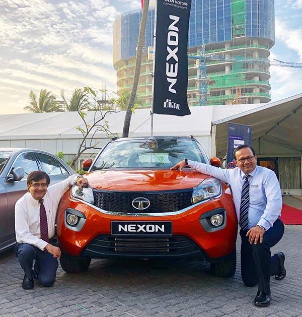 Tata Nexon Launched In Sri Lanka Gaadikey