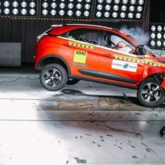 Tata Nexon Scores 4 star rating in Global NCAP