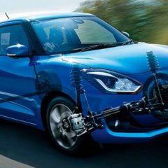 Suzuki Swift Hybrid Showcased In the 2018 Indonesia Auto Show