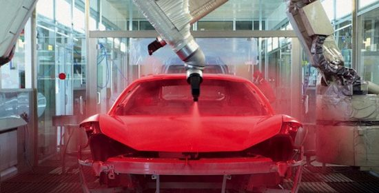 Ferrari to Introduce World's First Low-Bake Paint Finish