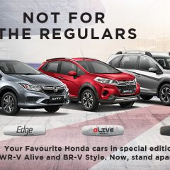 New Honda City, WR-V, BR-V Special Edition Launched