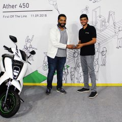 Ather 450 Deliveries Begin: First 10 Customers got the Keys Today