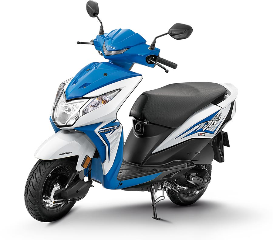 2020 Honda Dio Blue Color - 2020 Dio