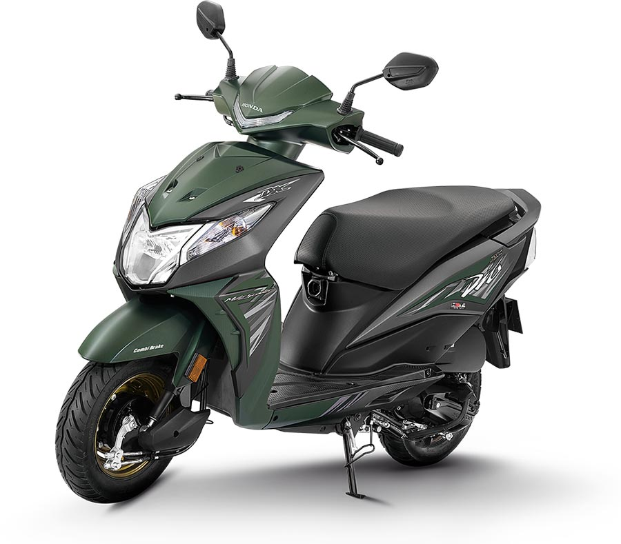 2020 Honda Dio Green Color - 2020 Model Dio color green