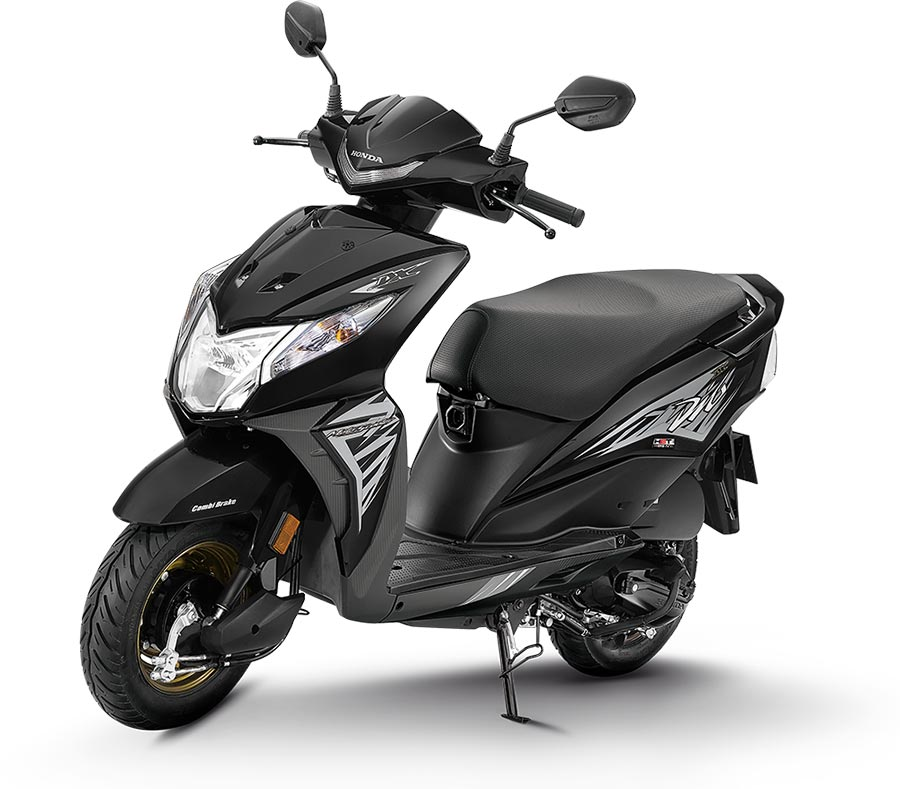 2020 Honda Dio Black Color - 2020 Dio Black Color