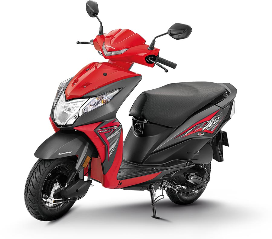 2019 Honda dio red color standard 2019 Dio