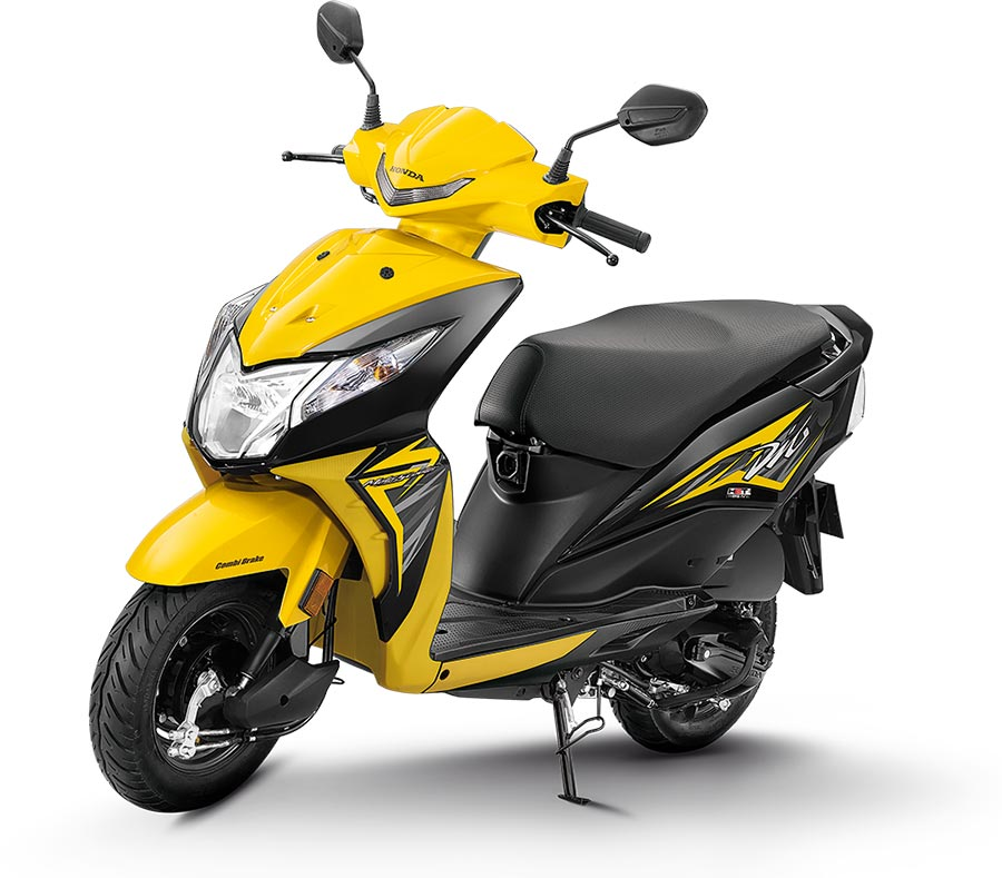 2019 Honda Dio Yellow color standard 2019 Dio