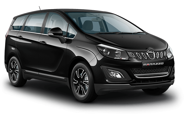 New Mahindra Marazzo Black Color - Mahindra Marazzo Oceanic Black color option