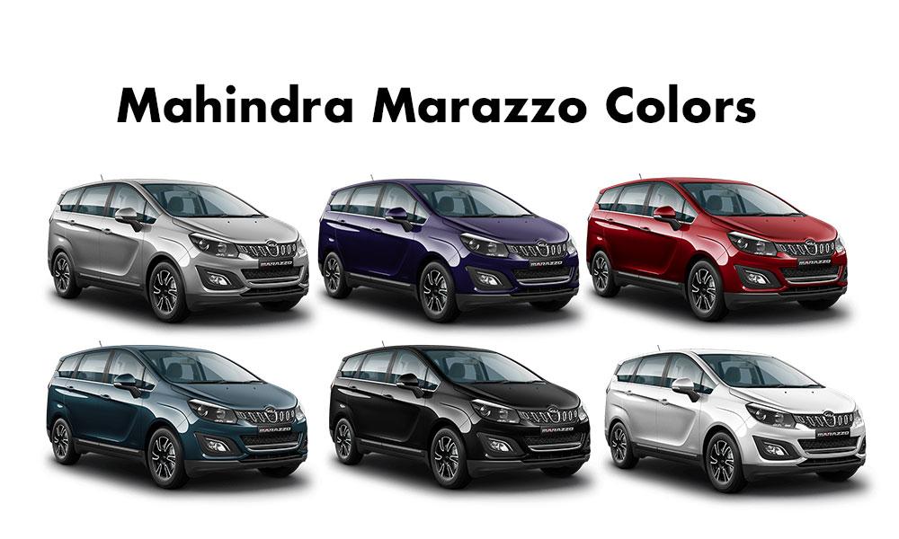 Mahindra Marazzo All Colors. Mahindra Marazzo Color Options - Mahindra Marazzo colors photos