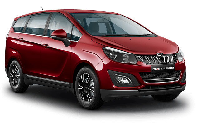 Mahindra Marazzo Red Color - Mahindra Marazzo Mariner Maroon Color
